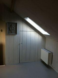 Alle timmerwerkzaamheden verzorgd op deze zolder: deur