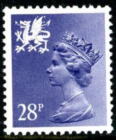 SG W63 28p violet