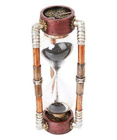 Look at this #zulilyfind! Steampunk Sand Hourglass Timer Figurine #zulilyfinds