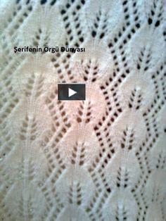 Türkçe anlatımlı ajurlu yaprak modeli