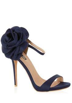 Navy Rose Heel Stilettos, Heels, Spring Summer, Boutique, Navy, Rose, Fashion, Hale Navy, Moda