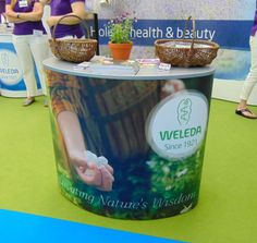 Weleda were at the Love Natural, Love You Show in London this weekend