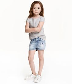 Kids | Girl Size 1 1/2-10y | Shorts | H&M US