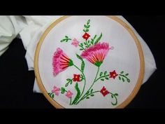 Hand Embroidery Designs | Embroidery stitches | Stitch and Flower-86 - YouTube