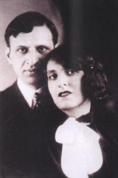 Claire und Iwan Goll