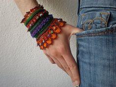 Callirhoe Involucrata   Freeform Crochet by irregularexpressions