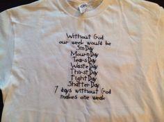 New Custom Embroidered T Shirts www.djsmallcreations.com