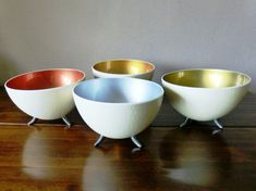 Our range of metallic ostrich egg shell bowls with 3 cute feet - Kokerboom Crafts