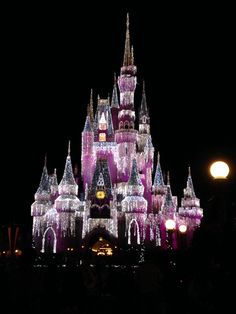 Cinderella castle at Disney world