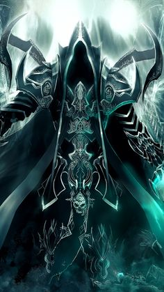 Modern style Home Decor Custom Poster with Art Diablo Iii Reaper Of Souls Malthael Wall Scroll Poster Fabric Painting X Inch X 90 cm) Dark Fantasy Art, Fantasy Artwork, Dark Art, Angel Warrior, Fantasy Warrior, Fantasy Character Design, Character Art, Grim Reaper Art, Photographie Portrait Inspiration