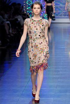 dolce gabbana69 Dolce & Gabbana Spring 2012 | Milan Fashion Week