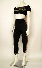 1950's Matador Capri Set | Catnip Reproduction Vintage Clothing