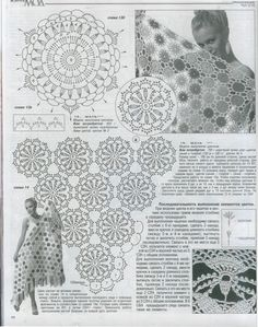 Chal Multicolor Patron - Patrones Crochet