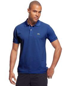 Lacoste Classic Pique Polo Shirt  - Blue 4XL
