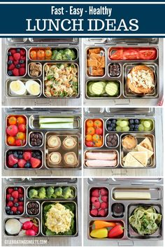 No heating or microwave needed. Printable recipe list with hundreds of combinations! No heating or microwave needed. Printable recipe list with hundreds of combinations! Easy Healthy Meal Prep, Healthy Lunches For Work, Prepped Lunches, Easy Healthy Recipes, Lunches On The Go, Vegetarian Lunch Ideas For Work, Lunch Ideas Work, Easy Healthy Lunch Ideas, Healthy Breakfasts