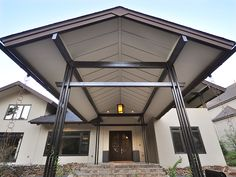 modern portico - Google Search | house details | Pinterest ...