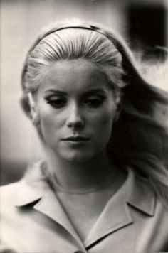 I always thought she was the classic beautiful woman--Catherine Deneuve