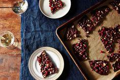 Chocolate Pomegranate Bark  recipe on Food52