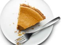 Bethenny Frankel's lowfat pumpkin cheesecake from Health.com- delicious and doesn't taste low fat