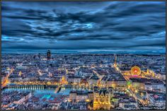 A view of Lyon in HDR by Stéphane Nino on 500px