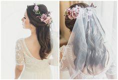 Noiva | Casamento | Flores | Penteado | Bride | Wedding | Flowers | Hair