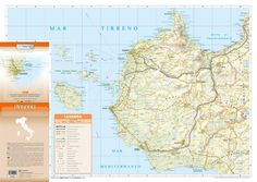 Trapani Province Road Map - 1:150.000 scale