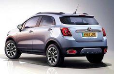 #Fiat тестирует 500X