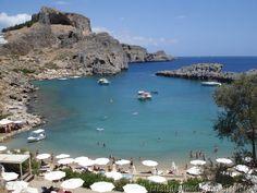 St Paul Bay - Rhodes Island Greece