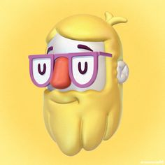 Hipster head — 3D modeling exercise, inspired by a Guntur Saladin concept.• http://metinseven.com#cartoon #cartoony #stylized #3d #illustration #illustrator #art #digitalart #artwork #artist #rendering #3drendering #3dmodeling #3dsculpting #cgi #graphics #toy #toys #character #characterdesign #design #designer #hipster #head