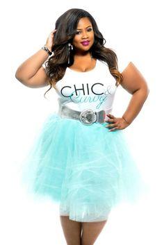 082de76994c Final Sale Plus Size TuTu Skirt in Mint Plus Size Tutu Skirt