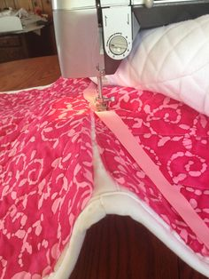 Against My Better Judgement: Handy-Dandy Super Easy Fun Saddle Pad Making Photo Guide