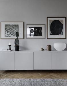 Sideboard wall color beige light gray old building apartment Scandinavian modern minimalist . Sideboard wall color beige light gray old building apartment Scandinavian modern minimalistic simpl Home And Living, Interior Design, House Interior, Home Living Room, Sideboard Designs, Home, Sideboard Styles, Interior, Home Decor