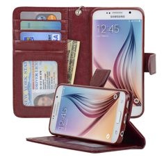 Samsung Galaxy S6 Wallet Case - Navor