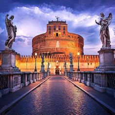 Rome, Italy, Castle Sant'angelo