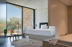 A luxury country hotel decorated in a minimalist Mallorcan style. Set in a renovated 17th-century monastery, it is located outside of Pollenca in nestled at the foothills of the Serra de Tramuntana amid rustic farmland and nature. Here, centuries-old architecture and old-world charm mix with contemporary style and comfort.