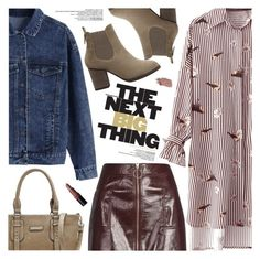 """Fall Fashion:Street Style"" by pokadoll ❤ liked on Polyvore featuring Topshop and Bobbi Brown Cosmetics"