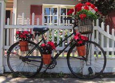 Art & Casa - Mari Rodrigues: Segunda - Inspiração, Bicicletas e Flores
