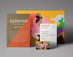 """Geremia Tiramisùstarted as a small idea of two guys from a town in Italy  called Treviso - the same place where the famous dessert was born.Many  people don't know that tiramisù means """"pick-me-up"""". It is so delicious that  it pleases the mind and body and provides you with new energy."""