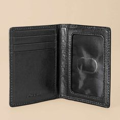 A nice middle point between a true card case and a larger wallet