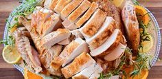 Simple Roast Turkey by Ree Drummond Ree Drummond, Roasted Turkey, Pioneer Woman Blog, Pioneer Woman Recipes, Sausage, Creamy Chicken, Sheet Pan, Thanksgiving Recipes, Food Network Recipes