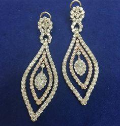 I N S A N E  #whitegold #rosegold #customdesign #kd #earrings http://ift.tt/2cGCOSq