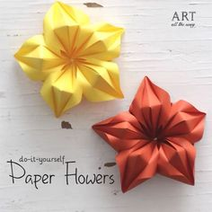 WEBSTA @ventunoart Paper Flowers! Follow @ventunoart | Facebook