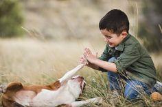 ShaiLynn Photography: boy and his dog