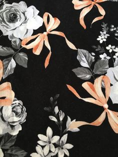 Beautiful Black Rose fabric is one of the latest additions to my #etsy shop: Roses On Black (4) Cloth/Fabric Dinner Napkins https://etsy.me/2GlouxO #housewares #black #bridalshower #square #cotton #roses #clothdinnernapins #fabricdinnernapkin #peach
