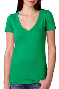 2ba21c53 Next Level Womens Signature V TShirt Kelly Green Large Pack12 >>> Check  this awesome