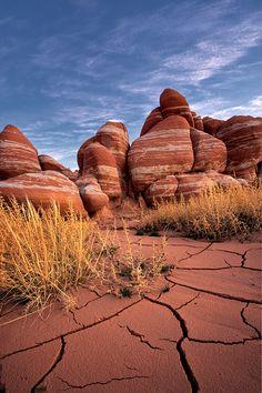 Blue Canyon, remote and impressive rock formations in NE Arizona
