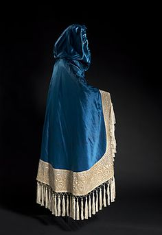 Cloak Made Of Silk, Metal Fasteners And Cotton Trim, Designed By Belarus (Russia 1866-1924 France)   c.1914  -  The National Gallery Of Australia