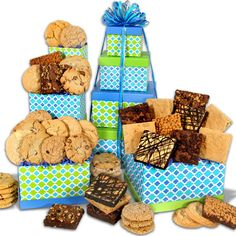 From The Bakery Gift Tower-59.99-goourmetgiftbasket.com