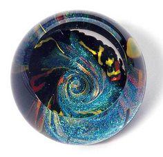 564 Glass Eye Studio Black Fireball - #1 GLASS EYE STUDIO Approved Retail Dealer Crystal River Gems available @ glasseyestudio.com