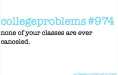 #Collegeprobs